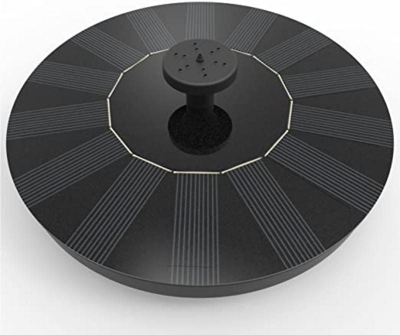 ihocon: Solatec Solar Fountain, Black 太陽能噴泉