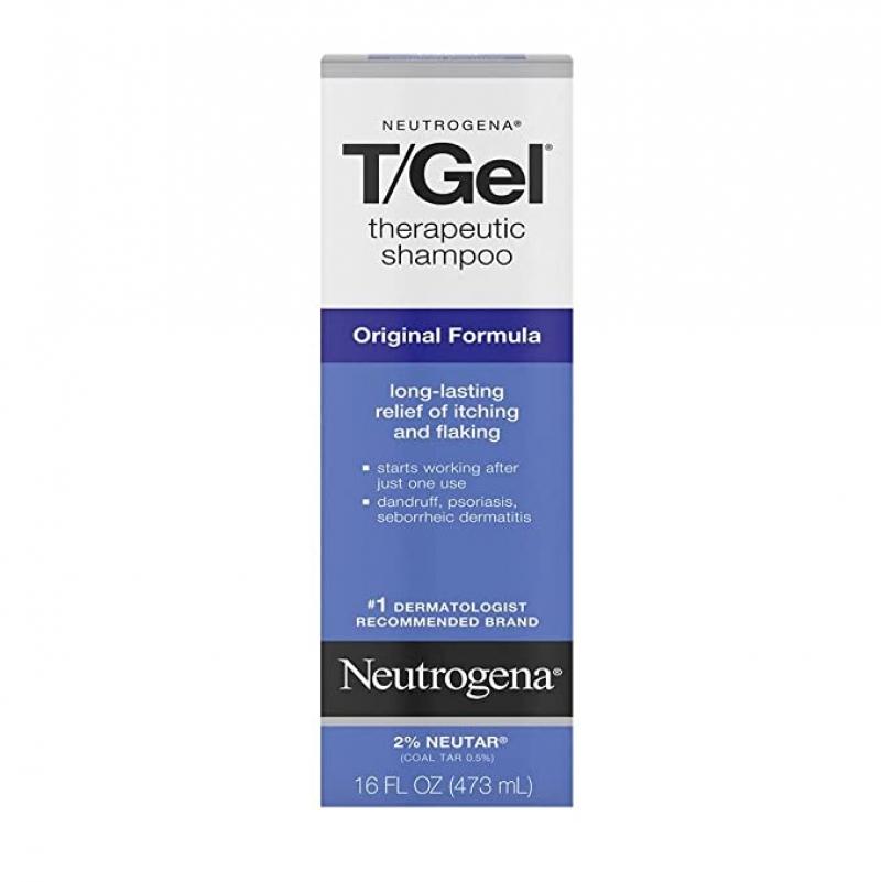 ihocon: Neutrogena T/Gel Therapeutic Shampoo Original Formula, 16 Fl Oz 露得清抗頭皮屑洗髮乳