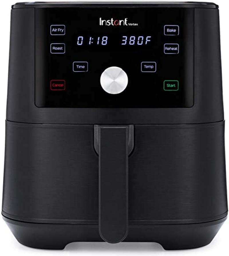 ihocon: Instant Vortex Air Fryer 4 in 1, Roast, Bake, Reheat, 6 Qt, 1700W  4合1 氣炸鍋