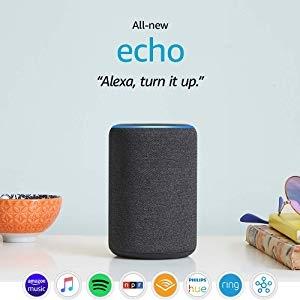 ihocon: All-new Echo (3rd Gen)- Smart speaker with Alexa