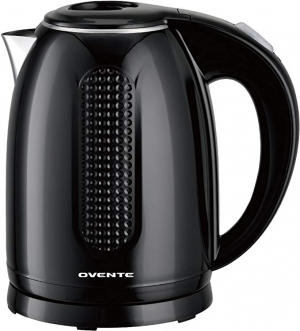 ihocon: Ovente Electric Hot Water Kettle Black 1.7, Auto Shutoff and Boil Dry Protection (KD64B) 電熱水瓶