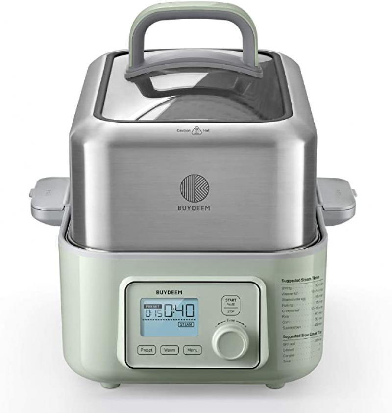 ihocon: BUYDEEM G563 5-Quart Electric Food Steamer 北鼎電蒸鍋