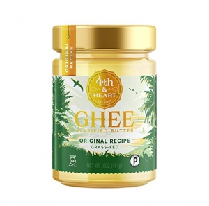 ihocon: Original Grass-Fed Ghee by 4th & Heart, 16 Ounce, Pasture Raised, Non-GMO, Lactose Free, Certified Paleo, Keto-Friendly 酥油
