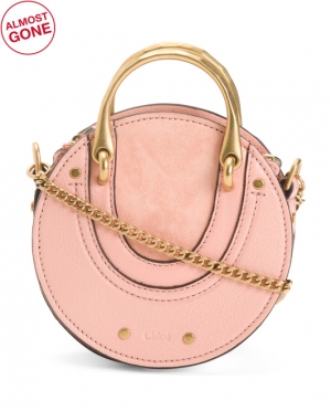 ihocon: CHLOE Made In Italy Pixie Mini Leather Crossbody 義大利製迷你皮包