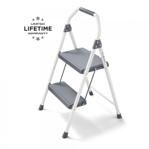 ihocon: Gorilla Ladders 2-Step Compact Steel Step Stool with, 225 lbs. Load Capacity 階梯凳
