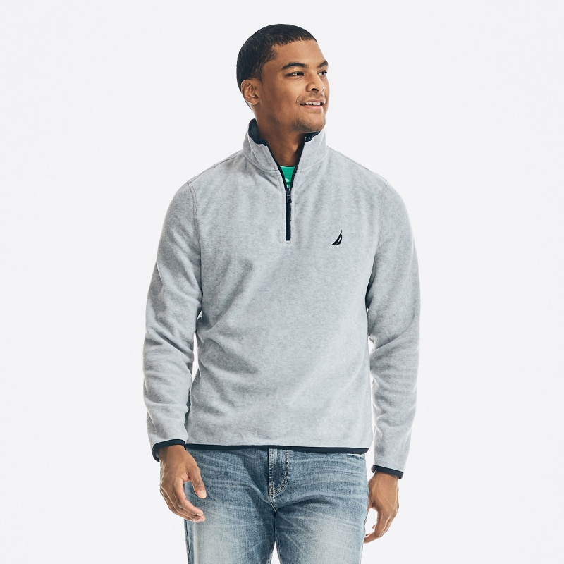 ihocon: Nautica NAUTEX PERFORMANCE QUARTER-ZIP PULLOVER 男士長袖衫-2色可選