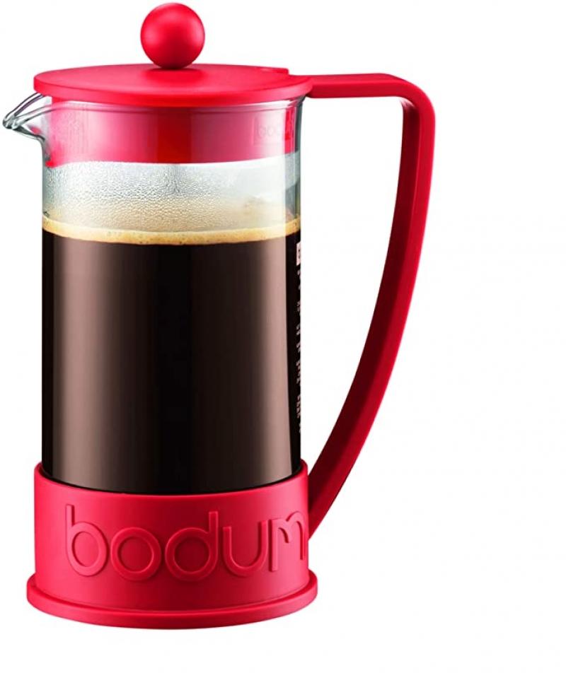 ihocon: Bodum 1-Liter 8-Cup Coffee Make Brazil French Press, 34 Ounce 法式壓濾咖啡壺