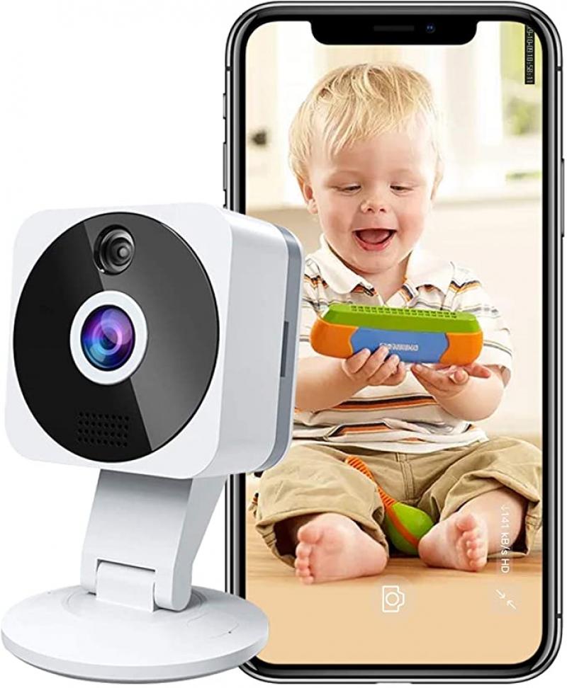 ihocon: Rreslicam 1080p HD Indoor 2.4G IP Security Surveillance System with Night Vision 2-Way Audio 室內監看鏡頭