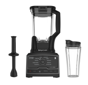 ihocon: Ninja Chef 1500 Watt Blender with Auto-IQ and Smoothie Cup 食物調理機