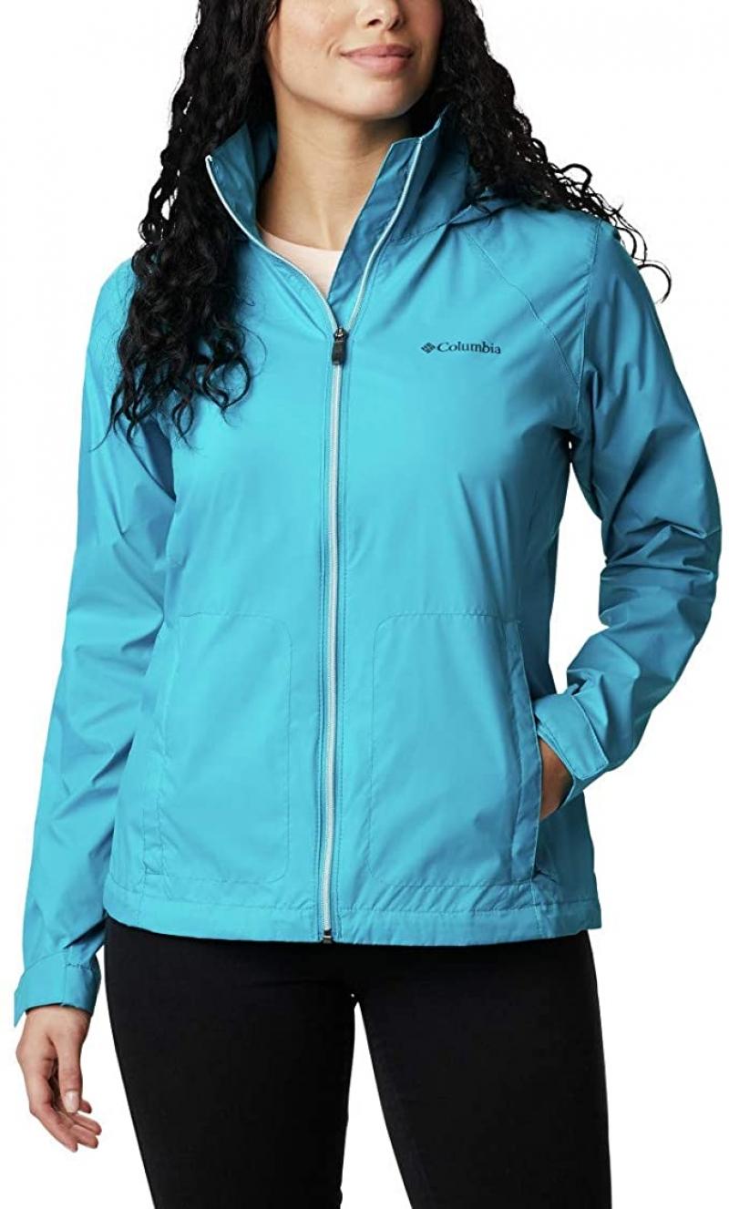 ihocon: Columbia Women's Switchback Iii Adjustable Waterproof Rain Jacket 女士防水/防雨連帽夾克
