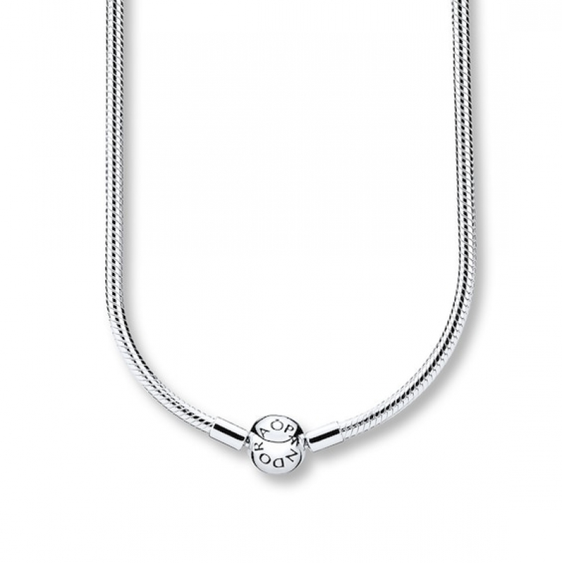 ihocon: PANDORA 19.7 Necklace Sterling Silver 潘朵拉純銀項鍊