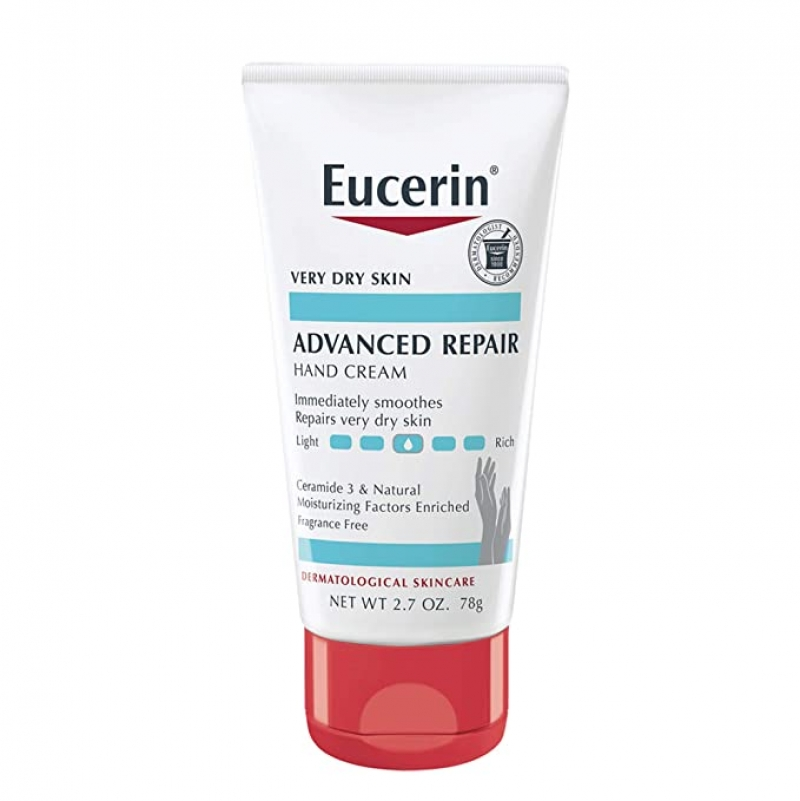 Eucerin 護手霜 2.7oz 3條 $7.81, 算起來1條才$2.6 (原價1條 $6.89)