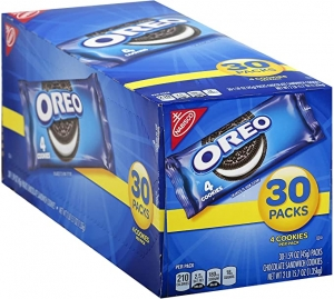 ihocon: Oreo Chocolate Sandwich Cookies, 30-1.59 oz 巧克力夾心餅乾