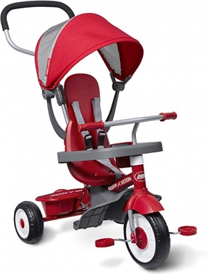 ihocon: Radio Flyer 4-in-1 Stroll 'N Trike  兒童三輪車