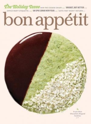 Bon Appetit 雜誌一年10期 $4.95(原價$59.90)
