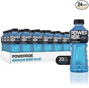 ihocon: POWERADE Electrolyte Enhanced Sports Drinks w/ vitamins, Mountain Berry Blast, 20 fl oz, 24 Pack 運動飲料(補充電解質)