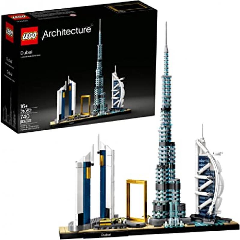 ihocon: [2020新款] 樂高杜拜高樓LEGO Architecture Skylines: Dubai 21052 Building Kit, New 2020 (740 Pieces) :