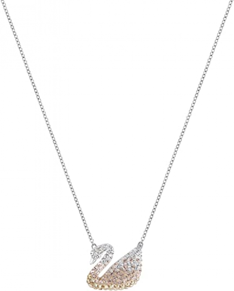 ihocon: SWAROVSKI Women's Iconic Swan Ombre 施華洛世奇水晶天鵝項鍊
