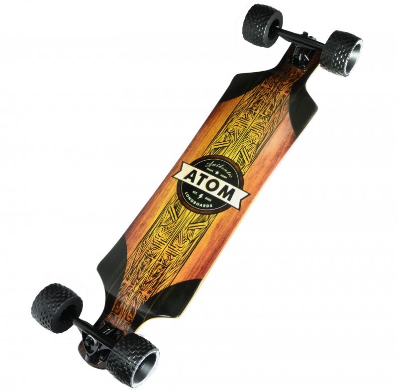 ihocon: Atom All-Terrain Longboard - 39 Inch 滑板