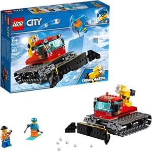 ihocon: LEGO City Great Vehicles Snow Groomer 60222 Building Kit (197 Pieces)
