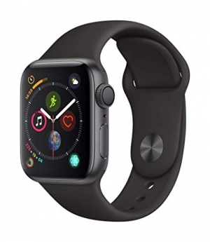 ihocon: Apple Watch Series 4 (GPS, 40mm) - Space Gray Aluminium Case with Black Sport (Used - Very Good)
