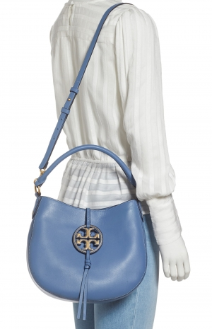 ihocon: TORY BURCH Mini Miller Leather Hobo Bag 皮包