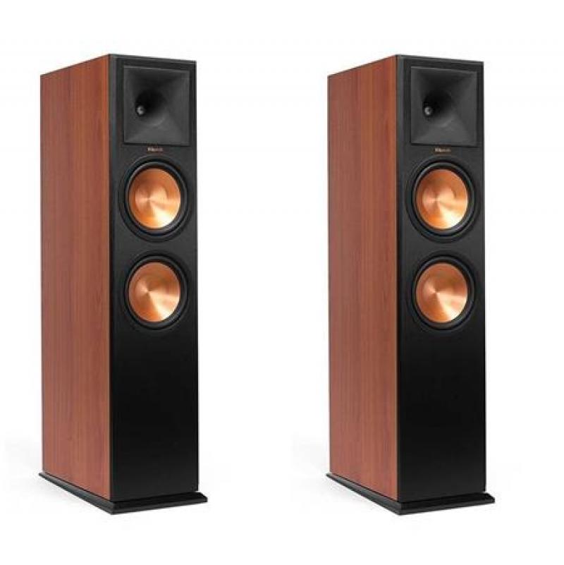 ihocon: Klipsch RP-280FA Floorstanding Speaker Cherry Vinyl - Pair 落地式音箱/揚聲器一對