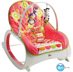 ihocon: Fisher-Price Infant-to-Toddler Rocker 嬰幼兒搖椅