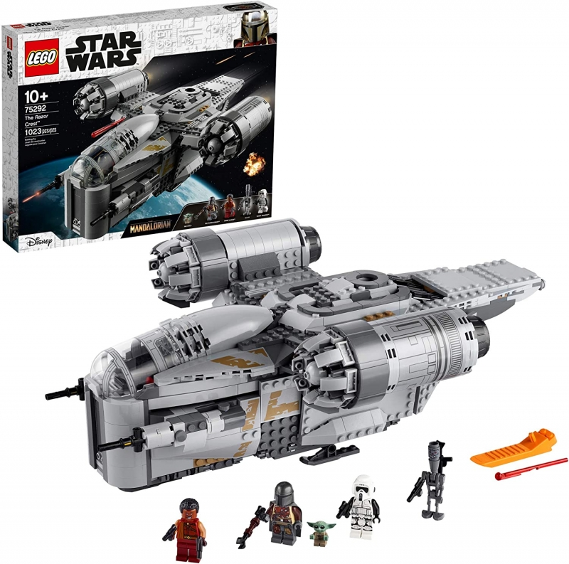 ihocon: LEGO Star Wars: The Mandalorian The Razor Crest 75292 Building Kit, New 2020 (1,023 Pieces)
