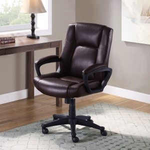 ihocon: Mainstays Big & Comfortable Manager's Chair, Supports up to 350lbs辦公椅/電腦椅