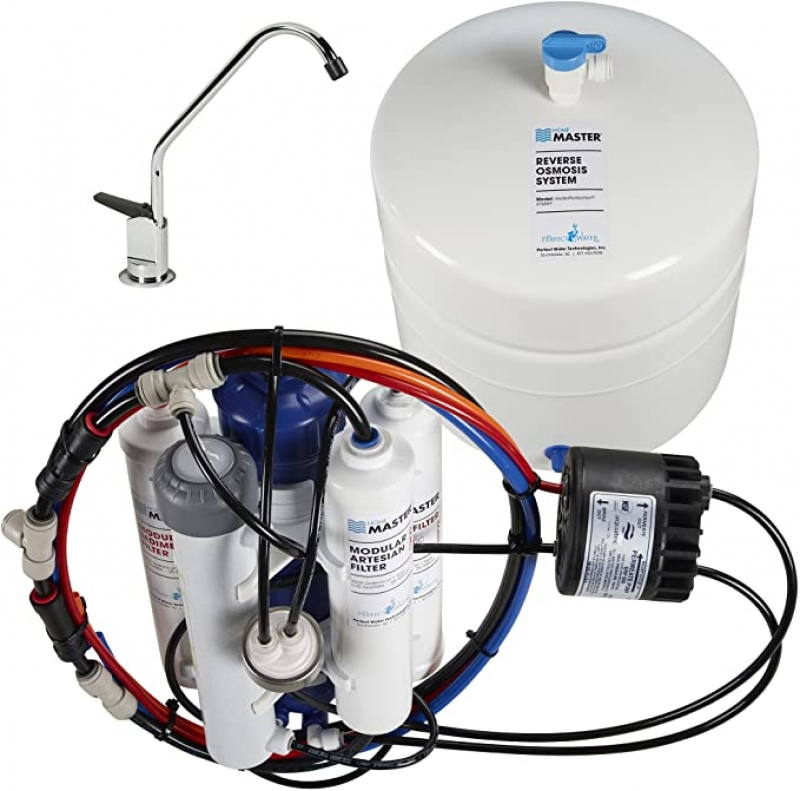 ihocon: Home Master TMHP HydroPerfection Undersink Reverse Osmosis Water Filter System    逆滲透濾水系統