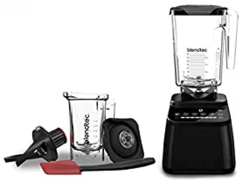 ihocon: Blendtec Designer 650 with Wildside+ Jar and Twister Jar Bundle Countertop Blender食物調理機