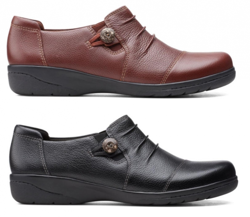 ihocon: Clarks Cheyn IncaBlack Leather 女鞋