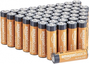 ihocon: AmazonBasics 48-Count AA High-Performance Alkaline Batteries電池