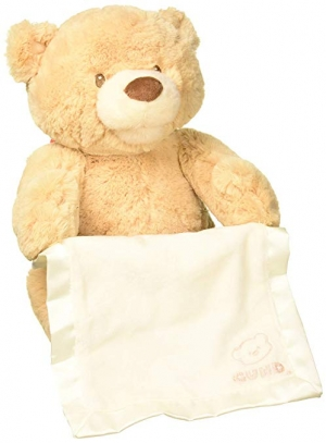 ihocon: GUND Animated Peek-A-Boo Bear, 11.5, Multicolor