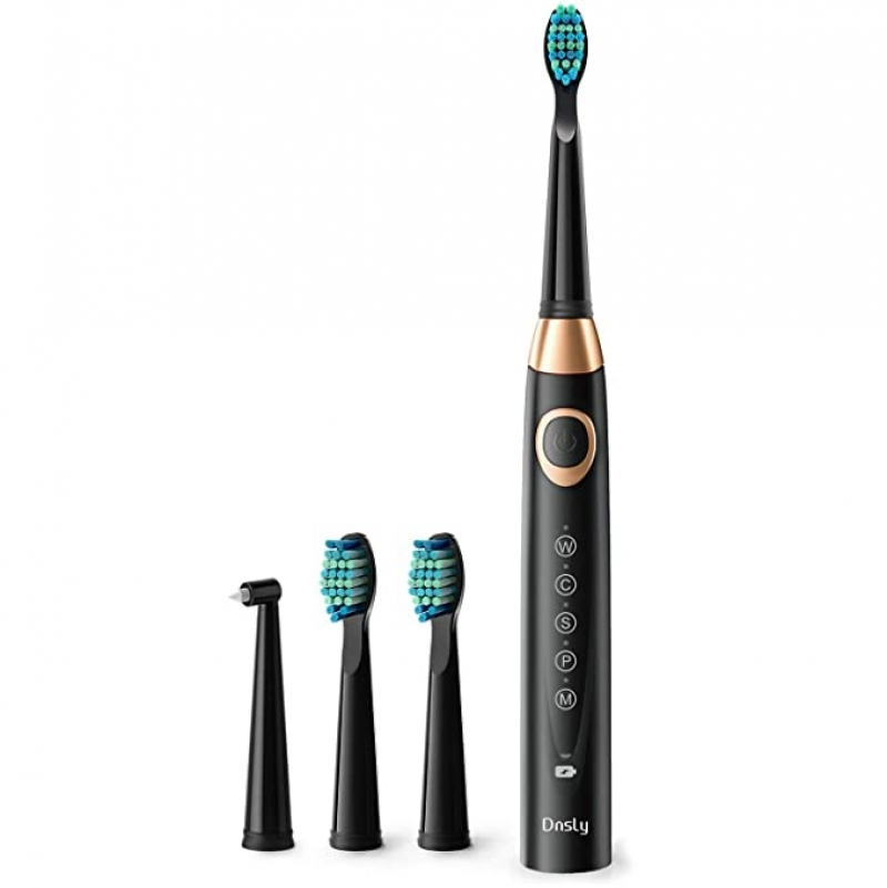 ihocon: Dnsly Powerful Sonic Cleaning Toothbrush with Timer 電動牙刷