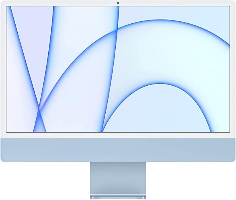 ihocon: [2021 新款] Apple iMac (24-inch, Apple M1 chip with 8‑core CPU and 7‑core GPU, 8GB RAM, 256GB)