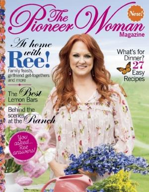 The Pioneer Woman雜誌 一年4期 $14.99(原價$23.96)
