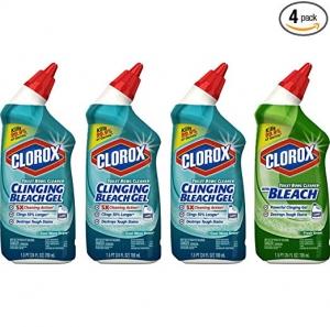 Clorox 馬桶清潔劑 4個 $6.65(原價$11.08)