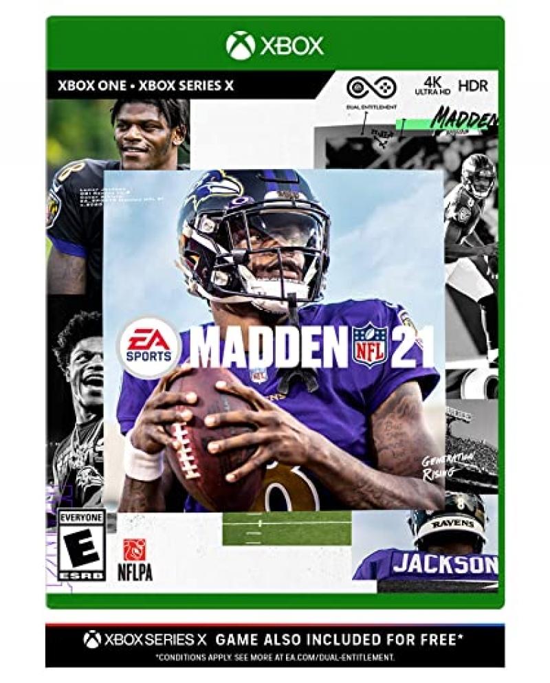 ihocon: Xbox One & Xbox Series X 遊戲 - Madden NFL 21