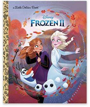 ihocon: Frozen 2 Little Golden Book (Disney Frozen)