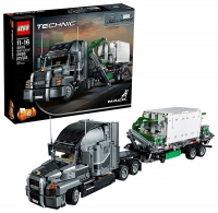 ihocon: Lego Technic Mack Anthem Semi Truck Building Kit and Engineering Toy (42078)