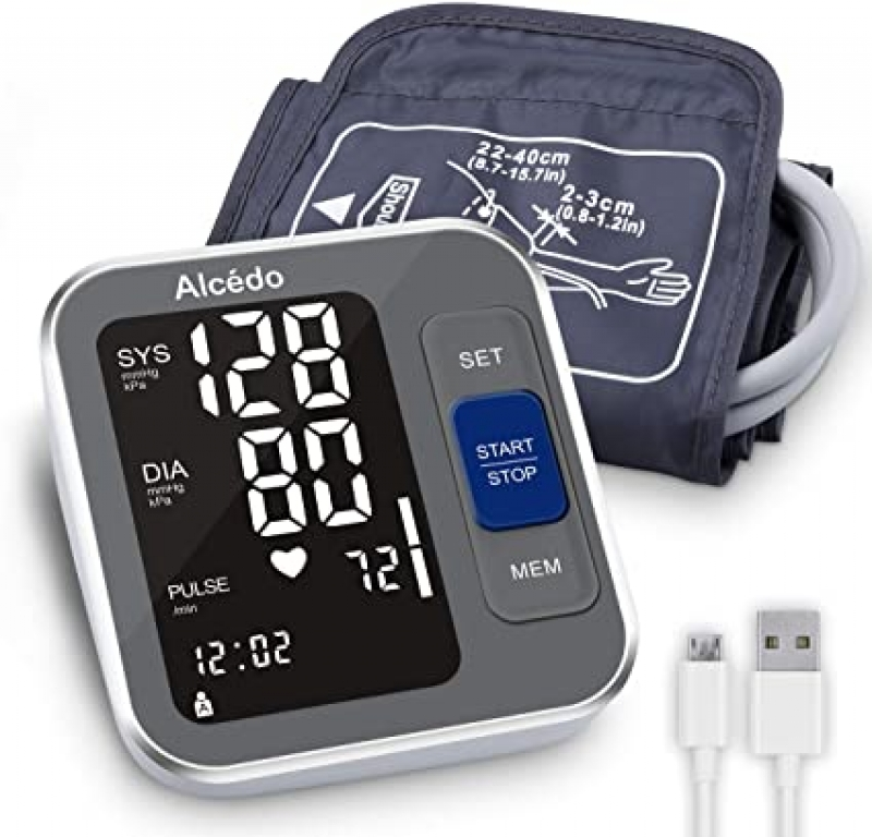 ihocon: Alcedo Blood Pressure Monitor Upper Arm 上臂血壓計