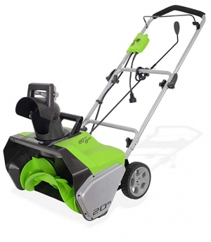 ihocon: Greenworks 20-Inch 13 Amp Corded Snow Thrower 電動鏟雪機 (有線)