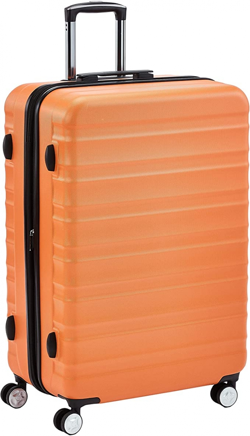 ihocon: AmazonBasics Premium Hardside Spinner Suitcase Luggage 28-inch 硬殼行李箱