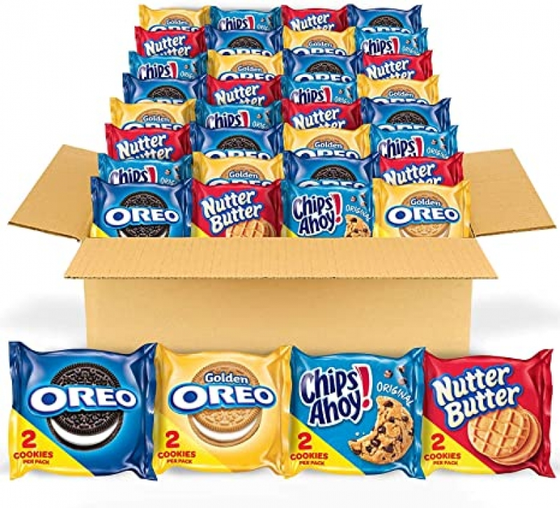 ihocon: Oreo Original, Oreo Golden, Chips AHOY! 綜合點心 56包