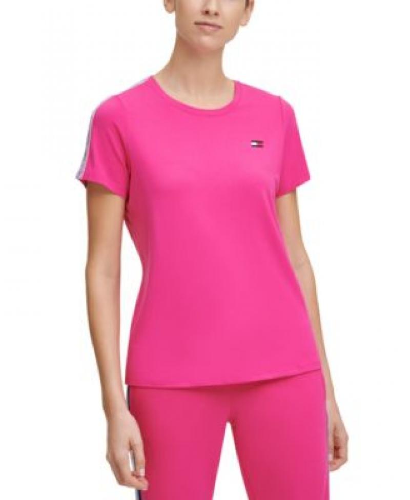 ihocon: Tommy Hilfiger Sport Logo-Tape T-Shirt 女士短袖衫