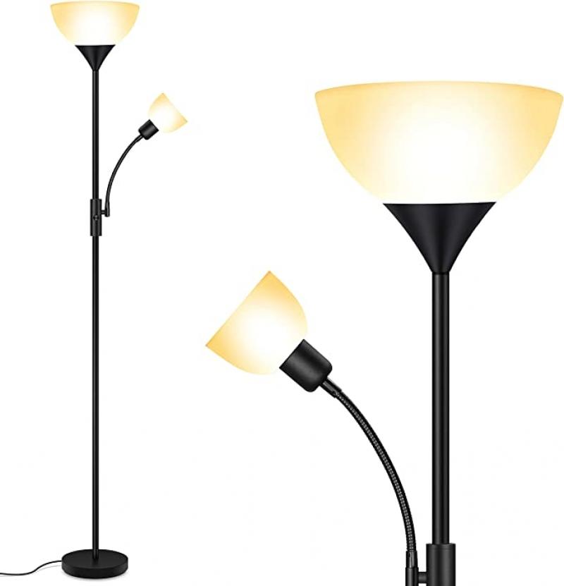 ihocon: BoostArea LED Floor Lamp with Reading Light落地燈