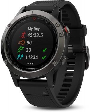 Garmin Fenix 5 Sapphir 藍寶石智能GPS運動錶 $393.5免運(原價$599.99)