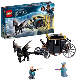 ihocon: LEGO Fantastic Beasts: The Crimes of Grindelwald - Grindelwald's Escape 75951 Building Kit (132 Pieces)